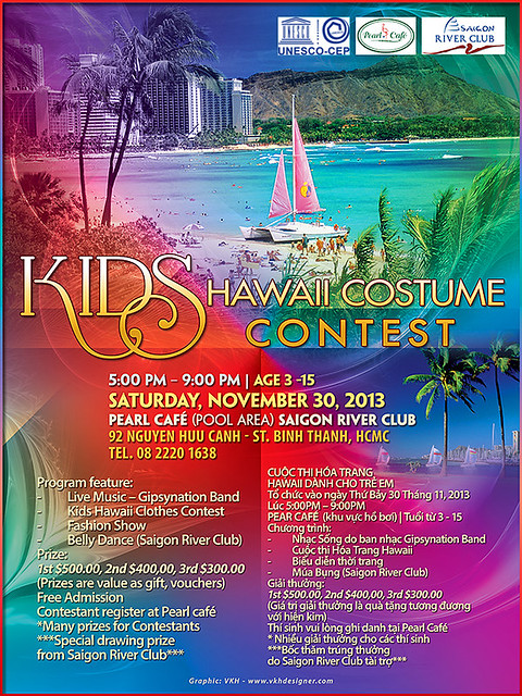 KIDS HAWAII COSTUME CONTEST
