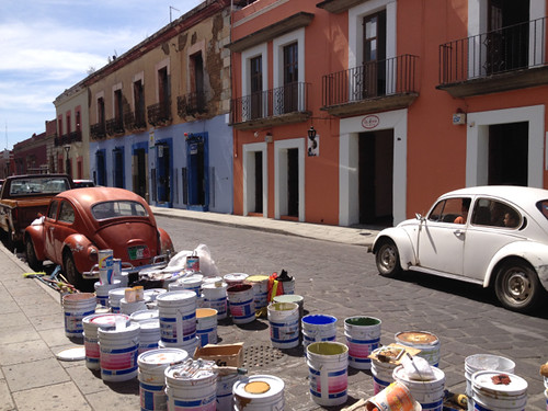 Oaxaca street-scene