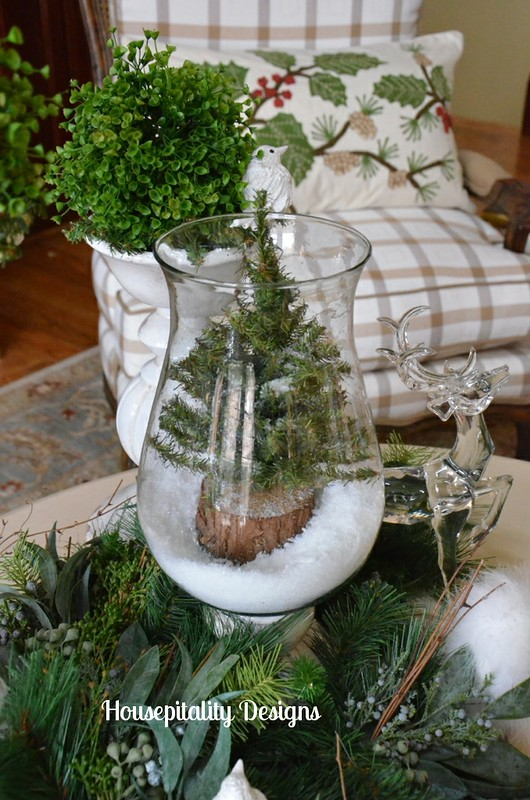Woodland Winter Christmas Vignette 2013