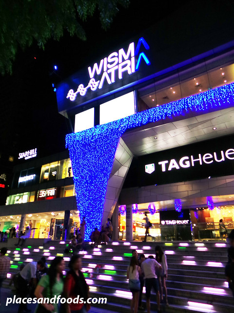 orchard road christmas lights 2013 wisma atria