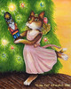 The Nutcracker Clara Cat Portrait