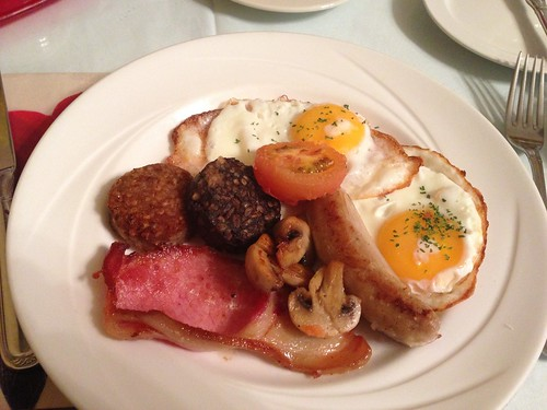 Irish breakfast, Kilronan House