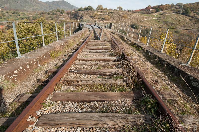 En Puente de Hierro de Hervás, resquicios del ferrocarril en el Valle de Ambroz