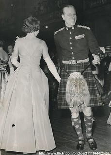 Queen Elizabeth at Regiment`s Ball