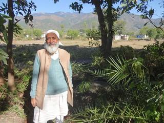 Kulbhushan Upmanyu at Kamla village in Chamba, Himachal Pradesh..