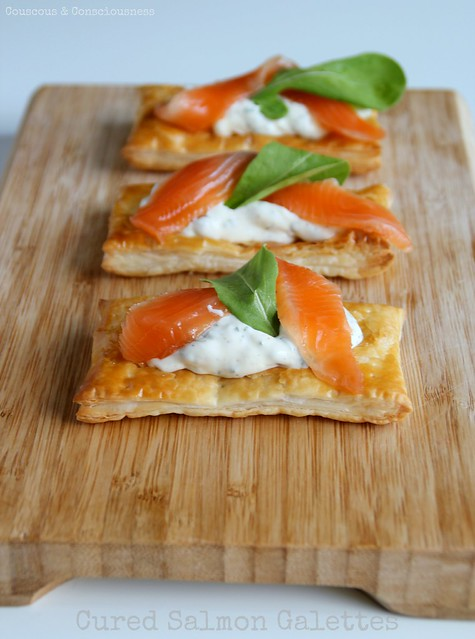 Cured Salmon Galettes 2