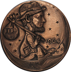Lincoln Bert hobo carving