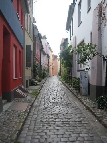 Gasse in Stralsund
