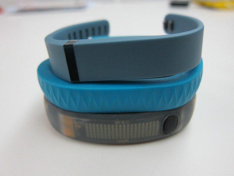 Fitbit Flex - With Jawbone UP & Nike FuelBand
