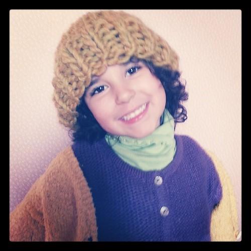 ♡ sur nana 6 ans il rend trop bien le 2-4 ans ♡ #knit #tricot #peaceandwool @peaceandwool #ourlittlefamily #france