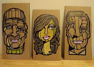 Cardboard Paintings