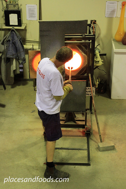 gordon studio glass blower
