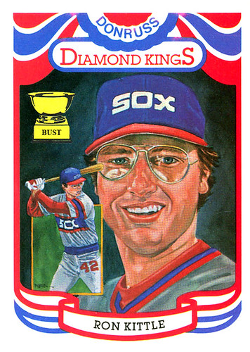 Baseball Card Bust Ron Kittle 1984 Donruss Diamond Kings Dream