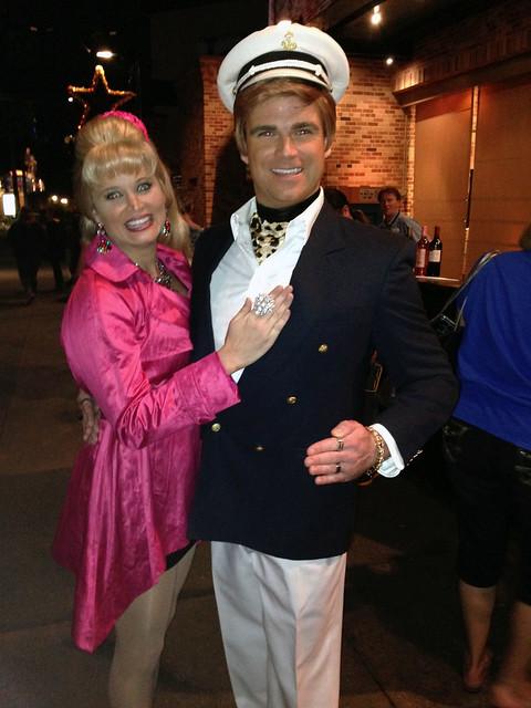Ken and Barbie at Disney