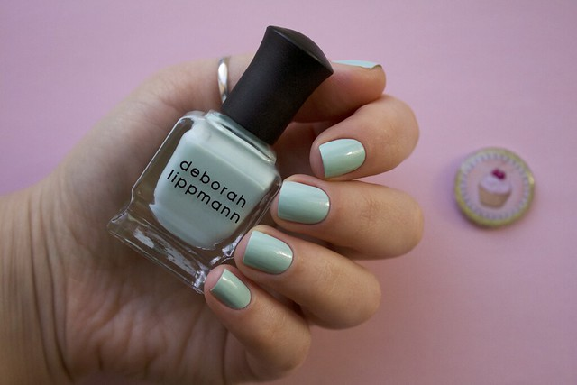 01 Deborah Lippmann Flowers In Her Hair swatches