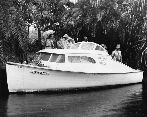 On the Estero River with the Coast Guard Auxiliary Patrol