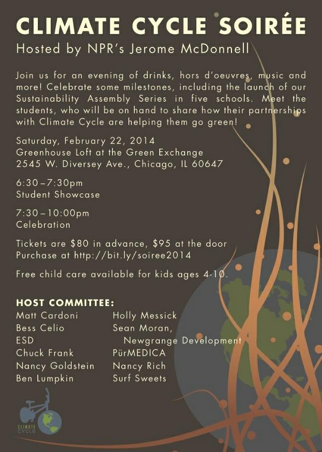 Climate Cycle 2014 Soirée Invitation
