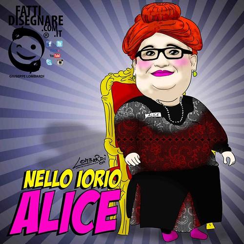 Alice Sarda by Giuseppe Lombardi