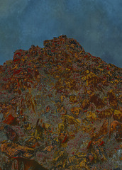 <strong>AZIZ + CUCHER - </strong> Scenapse #6 (Rock Mountain)<br />Aziz + Cucher, Scenapse #6 (Rock Mountain), c-print on Endura Metallic paper with aluminium mount, 155 x 125 cm, 2007