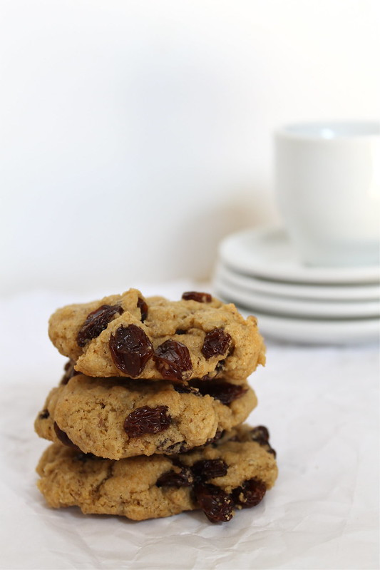 Oatmeal Rasin Cookies - vegan