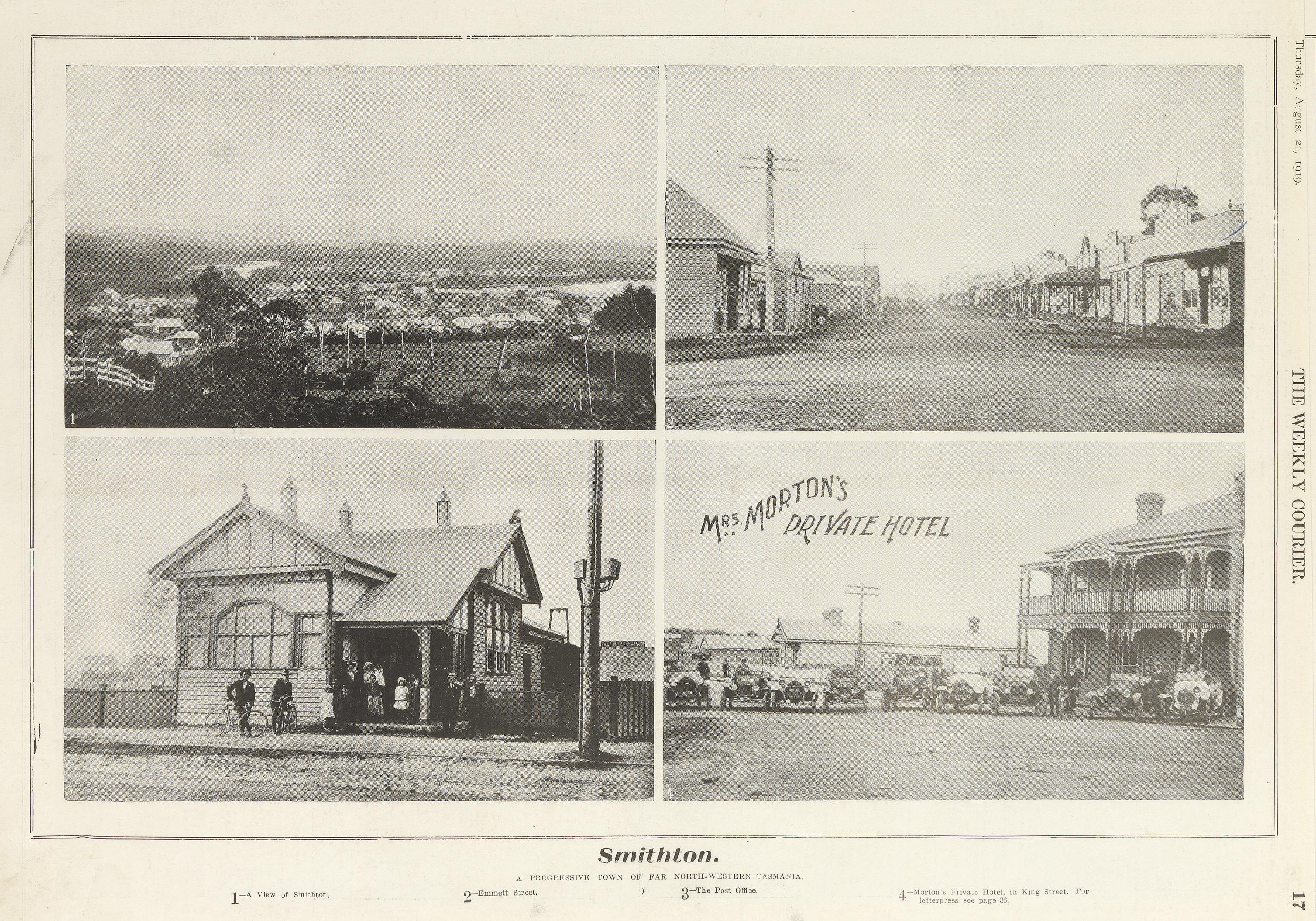 Smithton, Tasmania (1919)