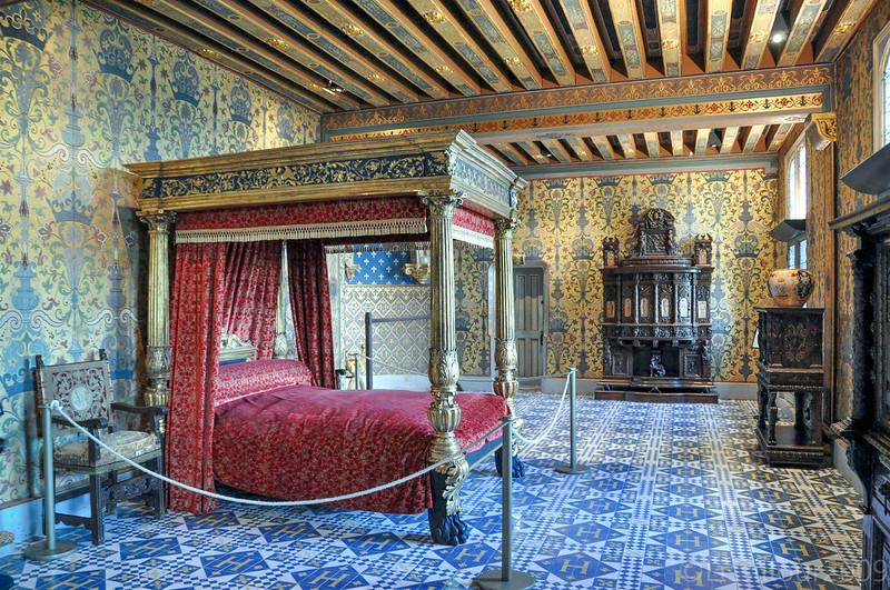 Chateau Blois castle UNESCO site France 2009 infos en français and english