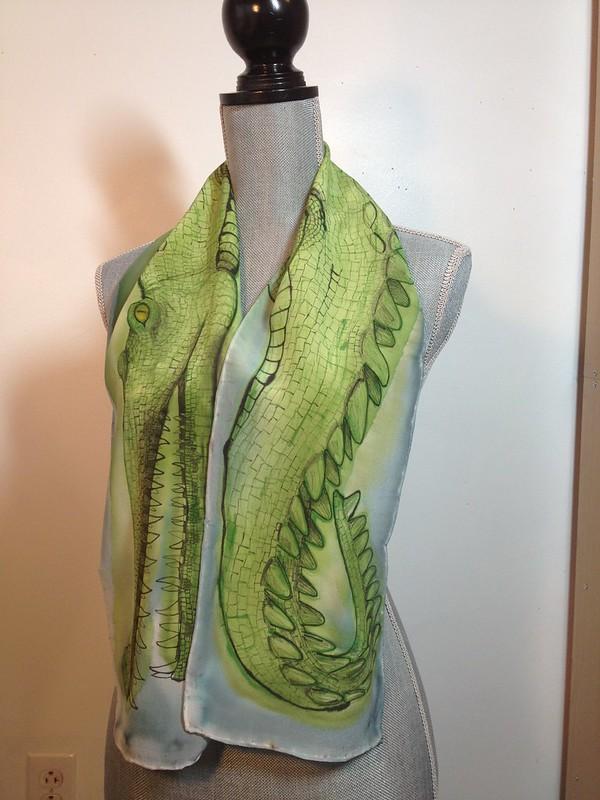 Gharial scarf