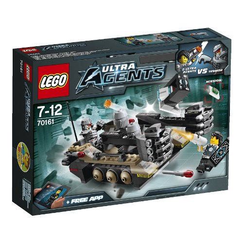 LEGO Ultra Agents 70161 Front