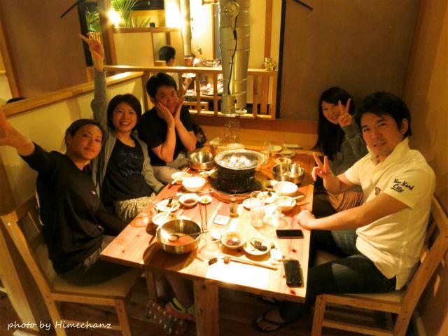 石垣島という焼肉屋さんで、皆さんと大盛り上がり~♪