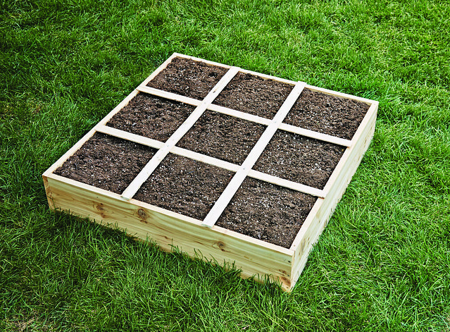 How To Build A Square Foot Garden Box Easy Step By Step Directions