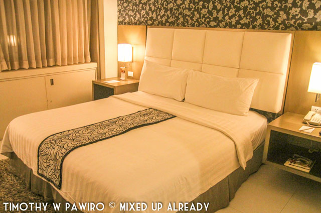 Asia - Philippines - Cebu - Quest Hotel - The bed