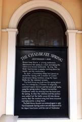 Photo of J. T. Groves, bath house, Tunbridge Wells, Dudley North, and Chalybeate Spring, Tunbridge Wells black plaque