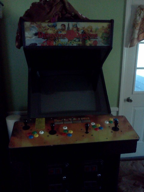 Doesn't everyone have a Dungeons & Dragons arcade game in their family room?