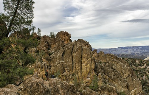california park ca red people usa mountain mountains west rock clouds landscape outdoors us day view cloudy hiking hike national western vista geology condor rugged pinnacles geologic nrpad