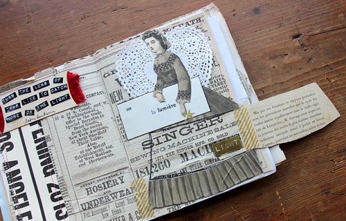 Sewed Journal Pages