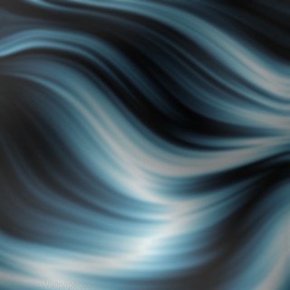 Energy wave blue background