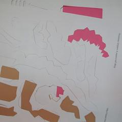 วิธีทำโมเดลกระดาษคุกกี้รสคุกกี้แอนด์ครีม  (Cookie Run Cream Cookie Papercraft Model) 001
