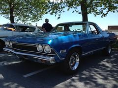 automobile, automotive exterior, vehicle, antique car, sedan, chevrolet chevelle, land vehicle, muscle car,