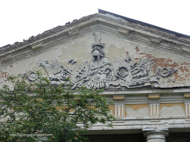 Герб Потоцких в Тульчине