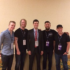 .@Kutless LIVE tonight from New Orleans Hilton Riverside.