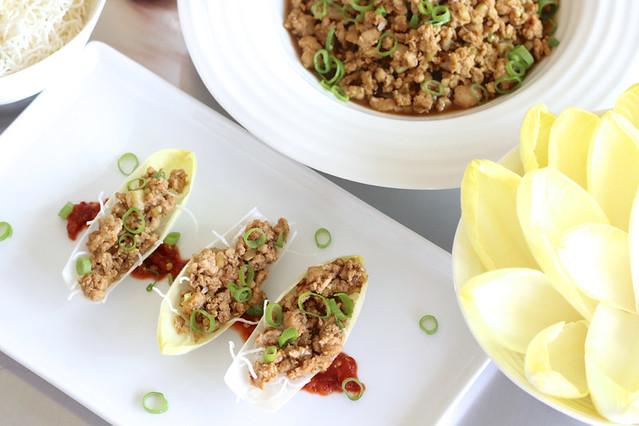 P F Chang S Inspired Chicken Endive Wraps Gluten Free Plains Joy