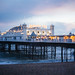 Brighton Pier shot on the new Lomography Petzval 58mm by lomokev