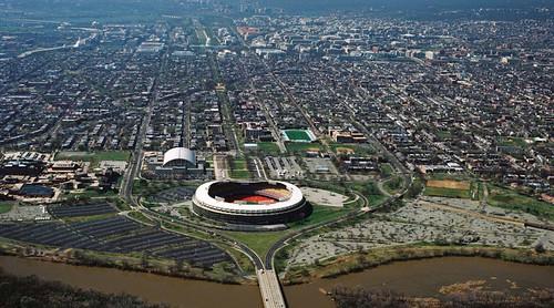 RFK Stadium site, aerial view