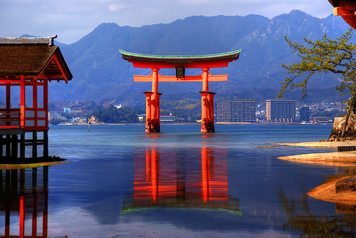 Torii-of-Itsukushima-Shrine