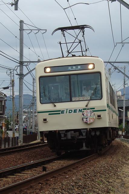 2015/07 叡山電車×わかばガール ヘッドマーク車両 #12