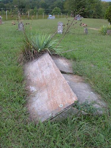 cemetery graves tombstones comb