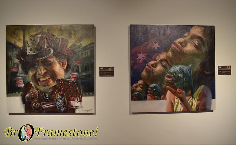 Solo Exhibition Nik Mohd Shazmie Nando's Art Iniative