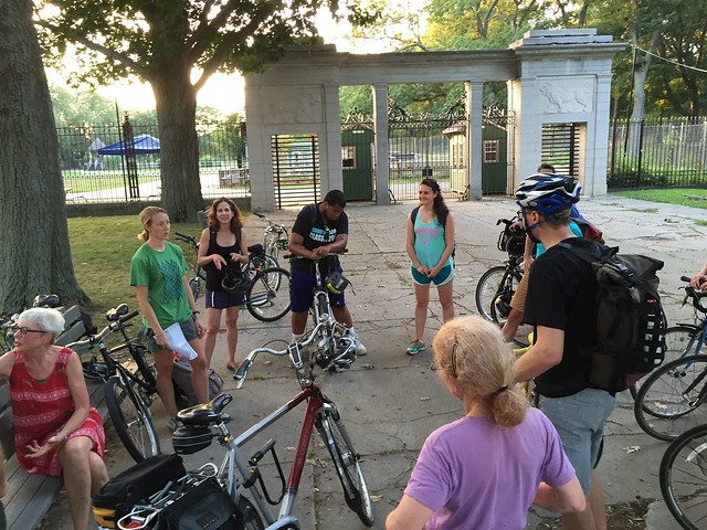 Emerald Network Summer Ride, July 2015