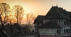 Yvelines-Le soleil se lève à Romainville - Photo of Herbeville