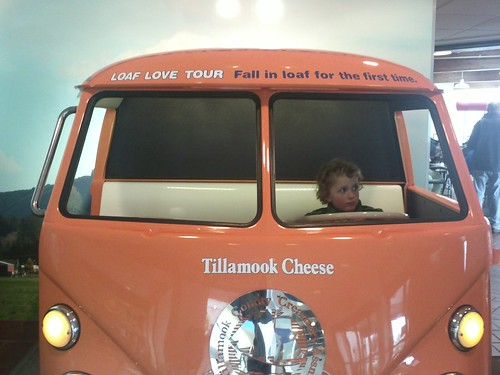 tillamook cheese van